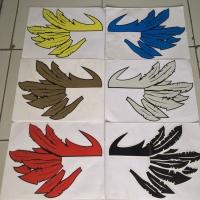 Sticker Stiker Sayap Wings Helm Universal