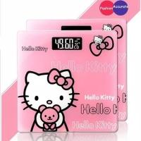 Timbangan Badan Digital LCD Hello Kitty Maks 180 kg /Body Weight Scale