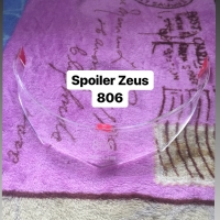 Spoiler Helm Custom Zeus 806 Clear