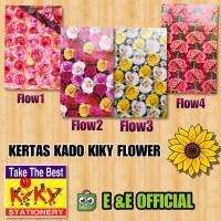 KERTAS KADO KIKY FLOWER / KIKY BUNGA / ROSE