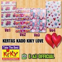 KERTAS KADO KIKY LOVE / KIKY CINTA / KADO PANAH LOVE
