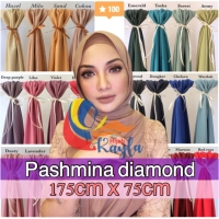 Jilbab Pashmina Sabyan Diamond Crepe Ukuran 175 x 75 cm