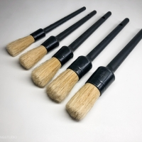 Pure Bristle Detailing Brush set of 5 / Kuas Detailing isi 5