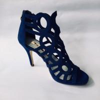 Sepatu high heels TAMARIS biru