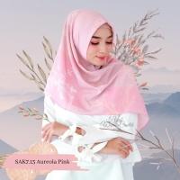 Pashmina Jilbab Kem Scarf Instan Hijab Wanita Cantik Aurum Aureola Pin