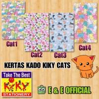 KERTAS KADO KIKY CUTE CATS / KUCING LUCU