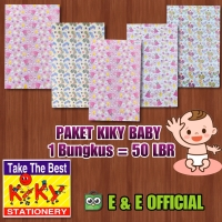 PAKET KERTAS KADO KIKY BABY / BAYI (50 LEMBAR) TERMURAH