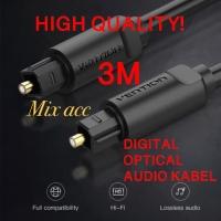 [BAE - 3M] Vention Kabel Toslink Digital Audio Optical / Fiber Optik