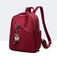 Tas Ransel Backpack wanita Cewek murah - Merah Gsuprg