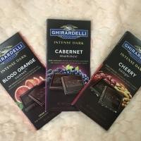 Ghirardelli Intense Dark Chocolate Bars Fruit Series