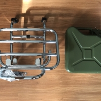 FA Italy Front Carrier Vespa Largeframe and Smallframe(with jerrycan)