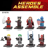SY 678 Minifigures Super Hero Marvel isi 8