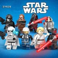 SY 638 Minifigures StarWars Seri Luke Skywalker