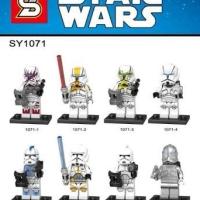 SY 1071 Minifigure Star Wars Seri Clone Troopers