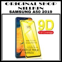 SAMSUNG GALAXY A50 A 50 TEMPERED GLASS 9D FULL COVER 3D 4D 5D 9H