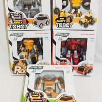 Harga tobot mini 2 mainan robot bisa jadi mobil transform produk   antitipu.com
