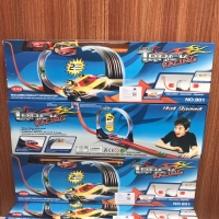 Track Hotwheels 1 Jalur Track Racing 801A