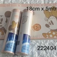 Harga wallpaper dinding border list motif mickey mouse minimouse kuning | antitipu.com