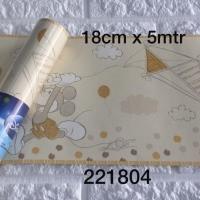 Harga wallpaper dinding border list mickey mouse kuning soft | antitipu.com