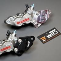 WR3 - Bracket Brembo Caliper P4 Depan Yamaha R25/MT25