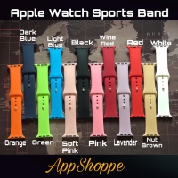 Apple Watch Silicone Sports Band Series 4 3 2 1 Strap 38/42mm 40/44mm