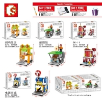 Sembo Block SD 601025 SD 601026 SD 601027 SD 601028 Soning Market