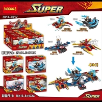 Mini Set Kendaraan Marvel Avengers Decool 7014 Decool 7016 Decool 7017