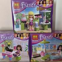 Mini Set Friends Bela 10123 Stephanie Bela 10124 Emma Bela10126 Olivia