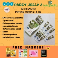 100% ORIGINAL Optrimax Jelly Delite MURAH BANGET 10 sachet + BONUS