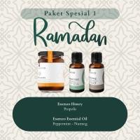 Paket Madu Propolis + 2 Essensial oil pepermint & Nutmeg