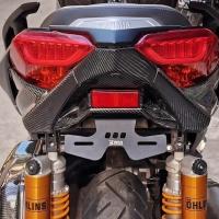 WR3-Dudukan Plat Yamaha Xmax250 (Tail Tidy)