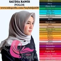 Hijab Segiempat Saudia Rawis Premium / Jilbab Segiempat Saudia
