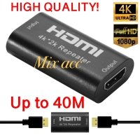 Hdmi extender female Gender hdmi 4k*2k Repeater Amplifier Booster