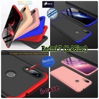 Case Redmi 7 GKK 360 Ori - casing cover redmi 7 6.26inc