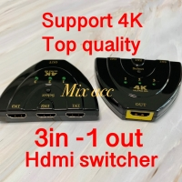 HDMI SWITCH 3 PORT 4K TV Hdmi switcher (3 INPUT 1 OUTPUT) 4k*2k