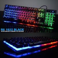 R8 1822 Backlight Keyboard Gaming - Black