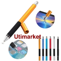 Harga stylus capacitive 2 in 1 fine point touch pen for smartphone | antitipu.com