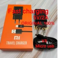 [PROMO] Chager xiaomi Fast charging Original 100% 5V 2A Micro usb V8