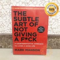[HARDCOVER] The Subtle Art Of Not Giving A F*ck - Mark Manson