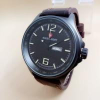 Jam tangan Swiss army kulit 1062