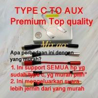 [PREMIUM QUALITY] Type C to Aux 3.5mm Active AUX Audio Adaptor HiFi