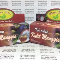 Teh Celup Kulit manggis - MitraSehat