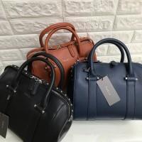 Hand bag BOWLING / tas kulit kerja wanita merk pedro / pedro hand bag