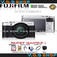 Kamera Mirrorless Fujifilm X-A10 / XA10 KIT 16-50 MM
