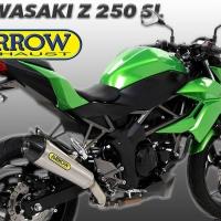 Arrow Exhaust X-Kone Kawasaki Ninja 250rr Mono/Z250SL