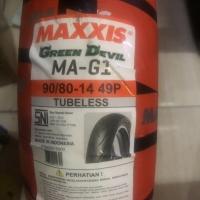 Maxxis MA-G1 Green Devil 90/80-14 Tubeless..
