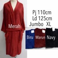 Kimono handuk mandi dewasa polos jumbo renang murah