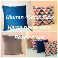 SARUNG BANTAL SOFA BELUDRU READY STOCK