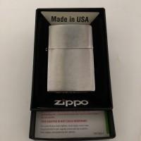 Zippo regular brush chrome, Made in usa. Brand new