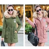 TERMURAH Jaket parka Bulu musim dingin wanita/winter jacket coat women